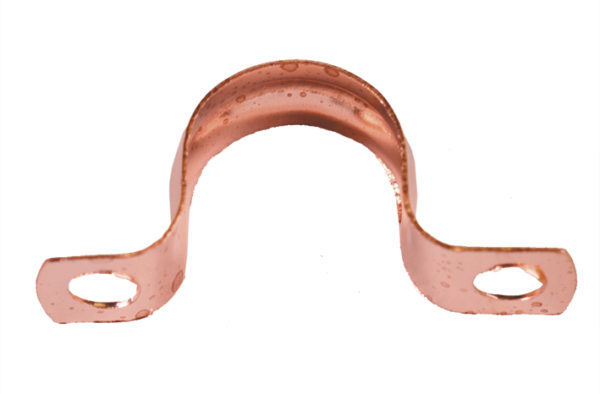 Copper Saddle Bracket (Plumbing)