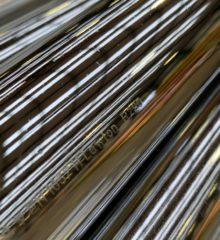 Copper Tube Chrome Straight Length
