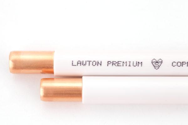 Copper Tube Plastic Coated Straight Length