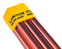 Copper Tube Plain Straight Length