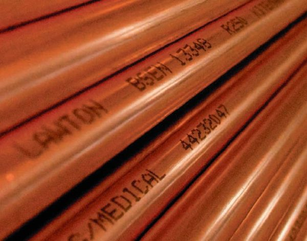 Medical Grade Degreased Copper Tube