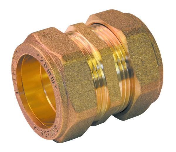 Straight Coupling Brass