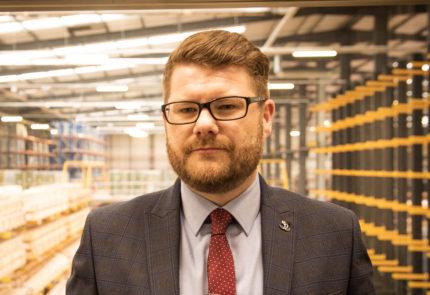 Um retrato de Brendan Read, nosso chefe de engenharia