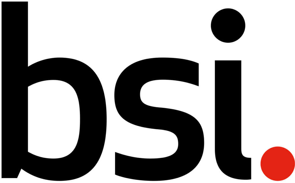 The logo of the BSI Group